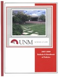 Bulletin and Handbook of Policies, 2007-2008 by University of New Mexico School of Law