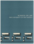 Bulletin and Announcements, 1987-1988 by University of New Mexico School of Law