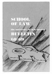 Bulletin and Announcements, 1968-1969 by University of New Mexico School of Law