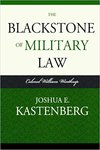 The Blackstone of Military Law: Colonel William Winthrop, 1831-1899