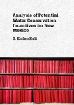 Analysis of Potential Water Conservation Incentives for New Mexico