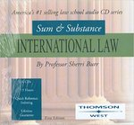 Sum and Substance Audio Set of International Law by Sherri L. Burr