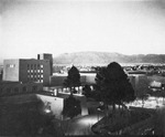 Exterior Aerial view of Zimmerman by University of New Mexico School of Law