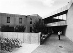 Exterior view of North Main Entrance by University of New Mexico School of Law