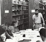 Legal Research Class session in library. by University of New Mexico School of Law