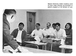 Caption: Several American Indian students, some of them tribal officials, are enrolled in a special program at the School of Law.