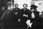 Jovial group at graduation. by University of New Mexico School of Law