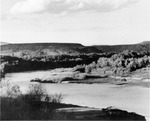 View of a bend in the Rio Grande. by University of New Mexico School of Law