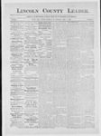 Lincoln County Leader, 04-07-1883