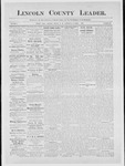 Lincoln County Leader, 04-14-1883