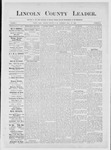 Lincoln County Leader, 06-16-1883