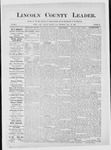 Lincoln County Leader, 06-23-1883