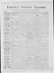 Lincoln County Leader, 06-30-1883