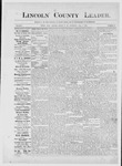 Lincoln County Leader, 07-07-1883