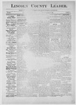 Lincoln County Leader, 09-15-1883