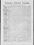 Lincoln County Leader, 10-20-1883