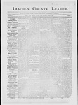 Lincoln County Leader, 10-27-1883