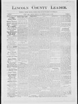 Lincoln County Leader, 11-24-1883