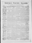 Lincoln County Leader, 12-01-1883