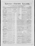 Lincoln County Leader, 12-08-1883