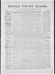 Lincoln County Leader, 12-15-1883