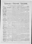 Lincoln County Leader, 12-22-1883