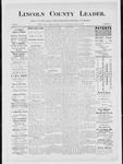 Lincoln County Leader, 12-29-1883
