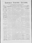 Lincoln County Leader, 01-26-1884