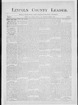 Lincoln County Leader, 11-01-1884