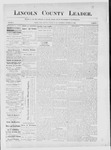 Lincoln County Leader, 10-20-1888 by Lincoln County Publishing Company