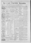 Lincoln County Leader, 01-12-1889 by Lincoln County Publishing Company