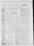Lincoln County Leader, 02-02-1889 by Lincoln County Publishing Company