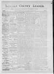 Lincoln County Leader, 02-16-1889 by Lincoln County Publishing Company