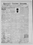 Lincoln County Leader, 05-04-1889 by Lincoln County Publishing Company