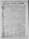 Lincoln County Leader, 05-11-1889 by Lincoln County Publishing Company