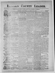 Lincoln County Leader, 05-18-1889 by Lincoln County Publishing Company