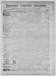 Lincoln County Leader, 06-08-1889 by Lincoln County Publishing Company