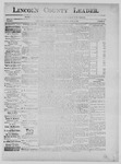 Lincoln County Leader, 06-22-1889 by Lincoln County Publishing Company