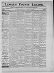 Lincoln County Leader, 07-06-1889 by Lincoln County Publishing Company