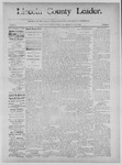 Lincoln County Leader, 11-09-1889 by Lincoln County Publishing Company