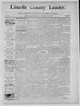 Lincoln County Leader, 12-14-1889 by Lincoln County Publishing Company