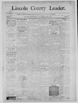 Lincoln County Leader, 04-12-1890 by Lincoln County Publishing Company