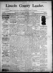 Lincoln County Leader, 06-28-1890 by Lincoln County Publishing Company