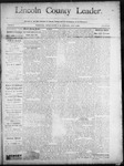 Lincoln County Leader, 07-05-1890 by Lincoln County Publishing Company