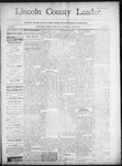 Lincoln County Leader, 07-12-1890 by Lincoln County Publishing Company