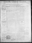 Lincoln County Leader, 07-19-1890 by Lincoln County Publishing Company
