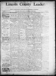 Lincoln County Leader, 08-02-1890 by Lincoln County Publishing Company