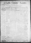 Lincoln County Leader, 08-16-1890 by Lincoln County Publishing Company