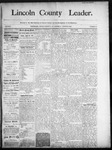 Lincoln County Leader, 08-23-1890 by Lincoln County Publishing Company