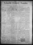Lincoln County Leader, 09-20-1890 by Lincoln County Publishing Company